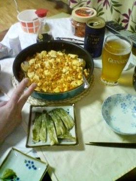キムチde麻婆豆腐