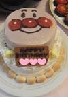 誕生日☆子供向けアンパンマンケーキ