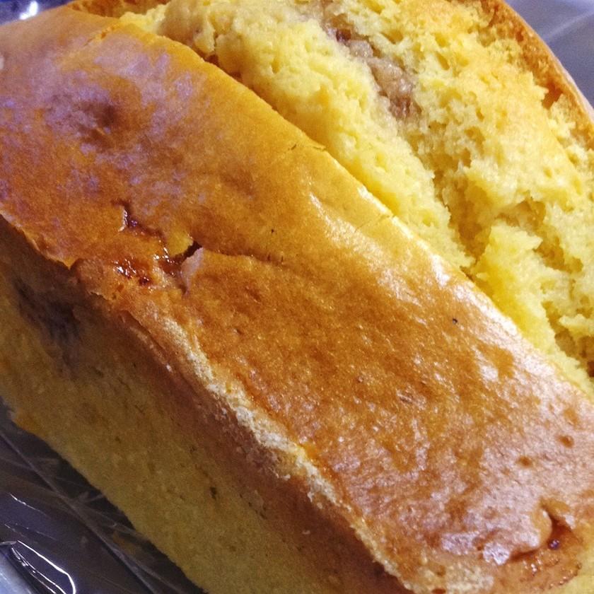 HM使用いちごのマーブルパウンドケーキ♡