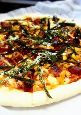 元ピザ屋店員のピザ屋さん風てりやきピザ