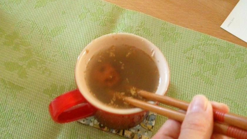 風邪にすぐ効く☆焼き梅生姜湯
