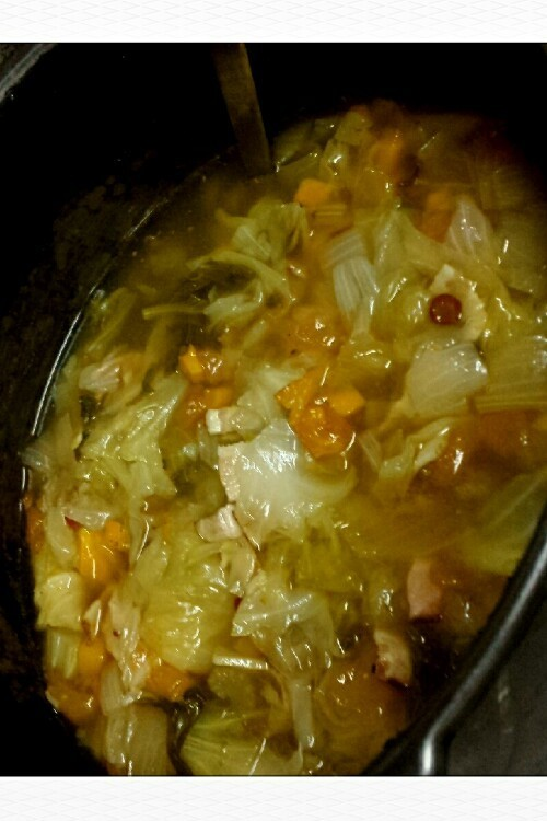 切って煮るだけダイエットスープ(・∀・)