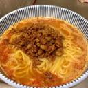 日清ラ王で楽々担々麺〈甜麺醤ver〉