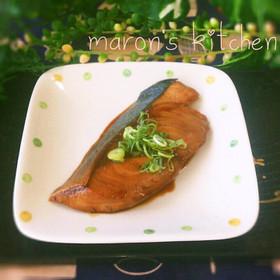 フライパンで簡単♡ブリの生姜照り焼き