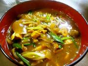 ルーと麺つゆで簡単うま♪カレー南蛮の写真