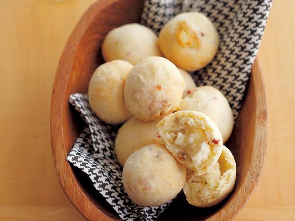 ピンクペッパー&クリームチーズおつまみスコーン