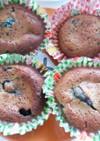 ブルーベリーのカップケーキ