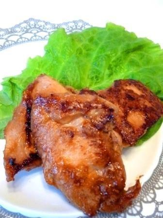 鶏胸肉の甘酒味噌漬けソテー