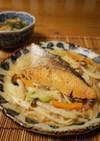 フライパンで☆秋鮭のちゃんちゃん焼
