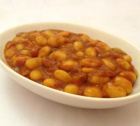 大豆カレー煮