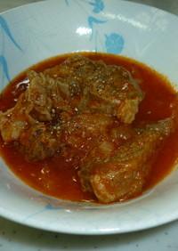 牛スネ肉のトマトソース煮込み