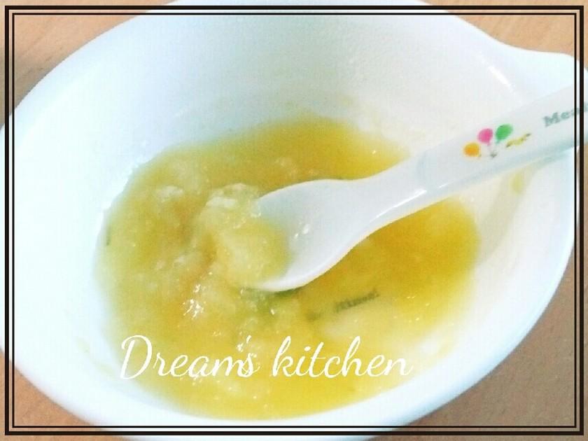 離乳食初期★さつまいもとりんごのデザート