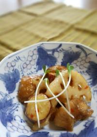旨し!鶏肉・蓮根・薩摩芋のスイチリ炒め