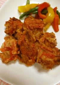 紅生姜の鶏から揚げ