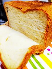 HBでふわもちリッチなブリオッシュ食パンの写真