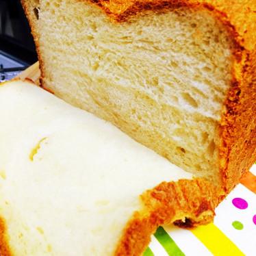 HBでふわもちリッチなブリオッシュ食パン