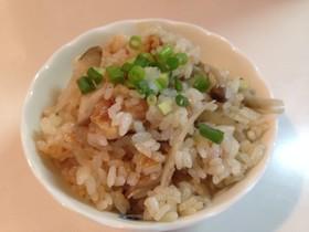 ☆残ったKFCで鶏ごぼうの炊込みごはん☆