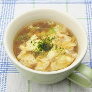 卵のオイスタースープ