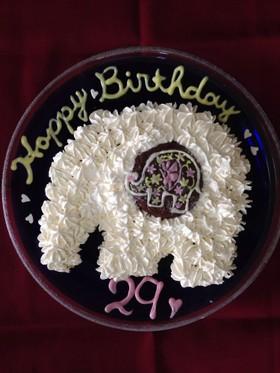 象さんケーキ