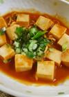 ストック食材で簡単!レンジで高野豆腐♡