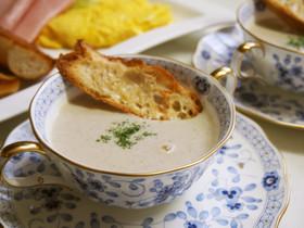 秋☆キノコのポタージュスープ