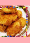 時短で簡単、鶏ムネ肉のカレーフライ