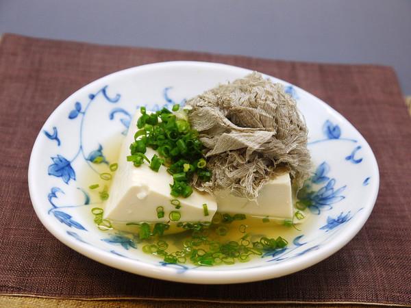 とろろ昆布豆腐