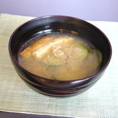 ズッキーニのお味噌汁