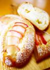 林檎とクリームチーズのハニースイートパン