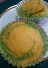 ほうれん草とニンジンのマーブルケーキ