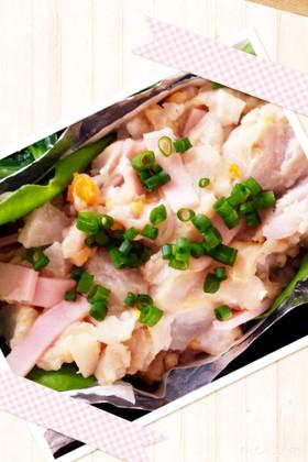 マヨ不使用☆里芋とハムのサラダ☆