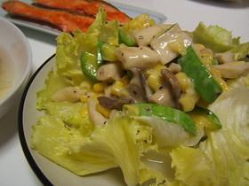 ズッキーニとエリンギのサラダ