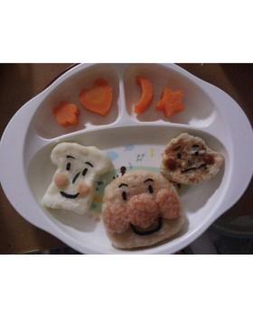 ☆1歳の誕生日用 アンパンマンプレート☆