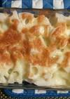 蒸し野菜のチーズ焼き