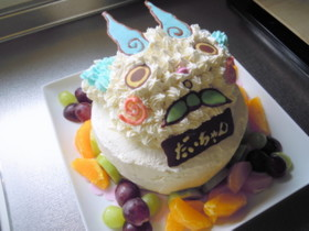 妖怪ウォッチ♪コマさんケーキ