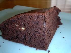 豆腐のあっさりチョコケーキ
