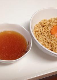 冷たいつけ麺 チキンラーメンアレンジ
