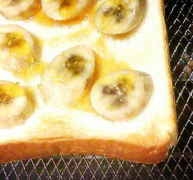 簡単 時短 バナナはちみつトースト