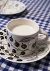 栗の渋皮煮のシロップで☆ホットミルク