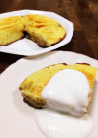 HMでカラメルバナナパンケーキ