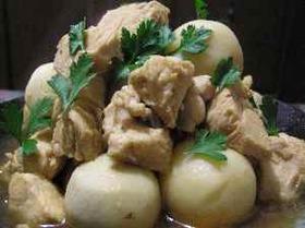 鶏肉と里芋の煮ころがし