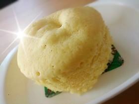 離乳食に♪固くならないレンジ蒸しパン
