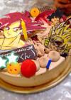 誕生日ケーキ☆ドラゴンボール☆デコチョコ