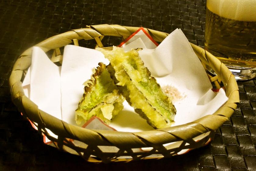 四角豆の天ぷら 簡単で一番おいしい食べ方
