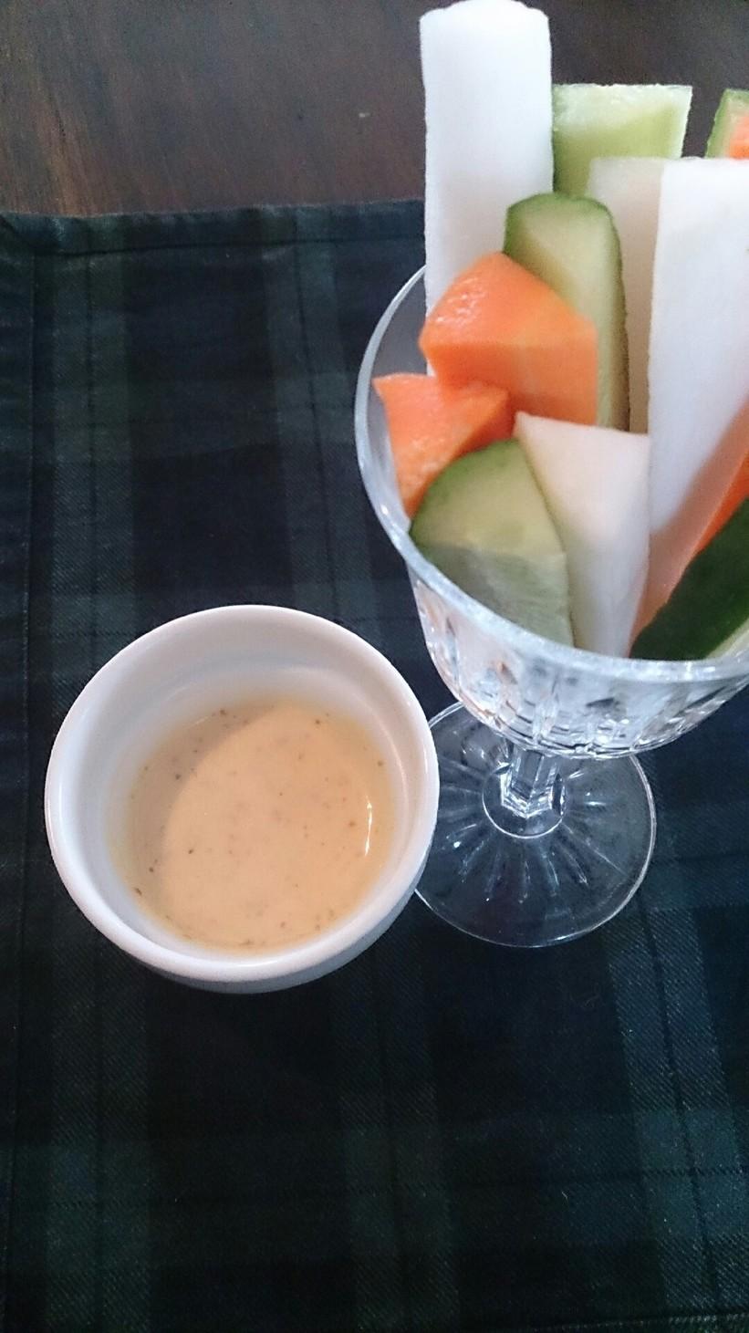 あの味大好き野菜スティックディップソース