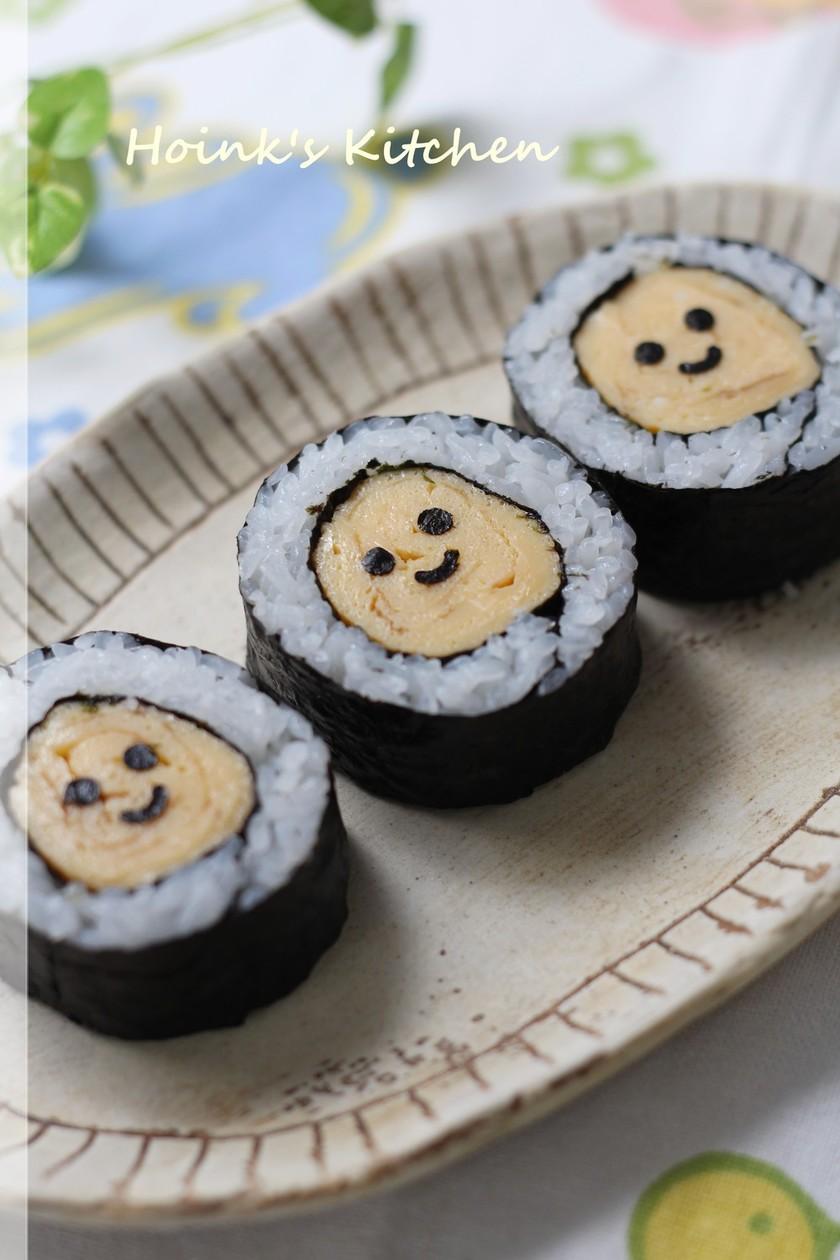 ぶきっちょさん御用達☺スマイル巻き寿司