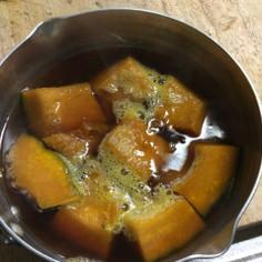 クセになるコックリとした南瓜の煮物