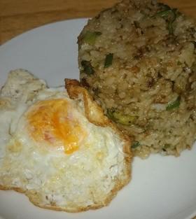 緑野菜のネコムライスエッグ