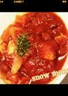 鶏ささみのトマト煮