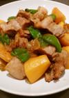 豚ばら肉とインカの目覚めの煮物